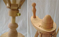 Yarn Swift / Skeinwinder: Ring Handle